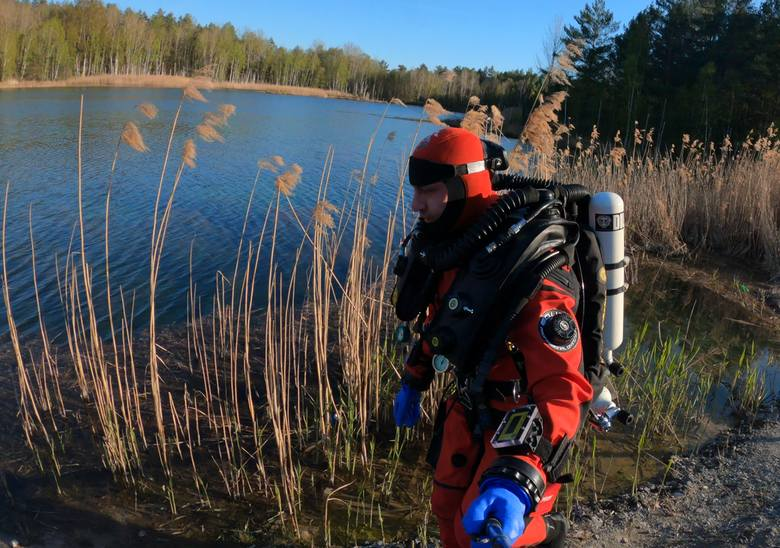Woda nigdy nie wybacza. Płetwonurek Marcel Korkuś od lat szuka jej ofiar