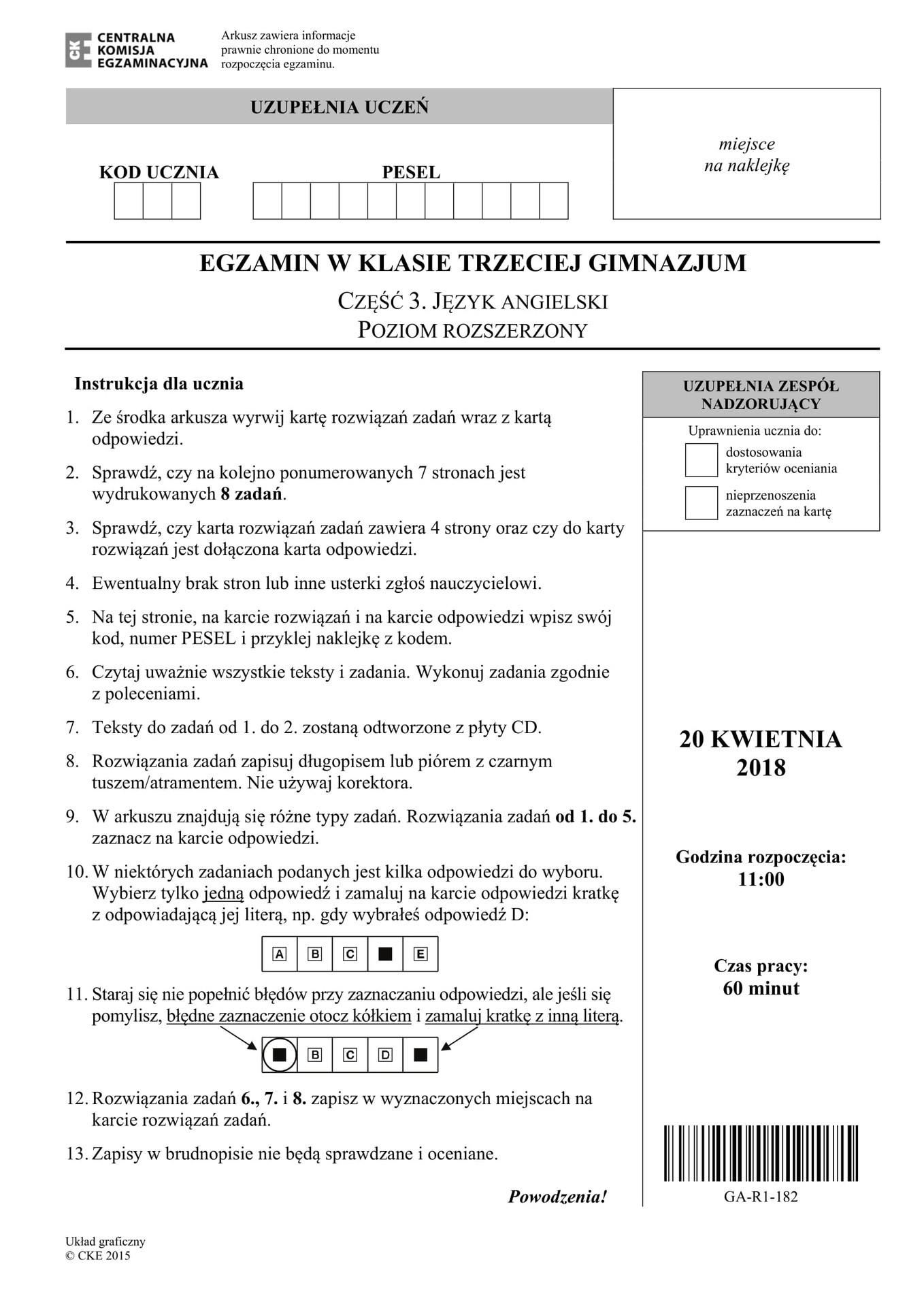 e4020408c0 Również egzamin z angielskiego na poziomie rozszerzonym krakowscy uczniowie  uznali za łatwy. Jak dodawali