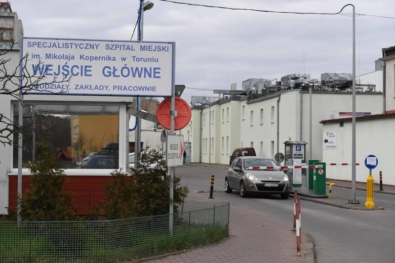 Koronawirus na 3 oddziale szpitala miejskiego w Toruniu! Nocna ewakuacja