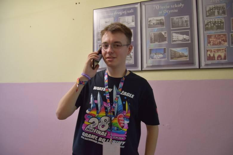 WOŚP OTYŃ 2020 - szef sztabu Michał Kołaczkiewicz