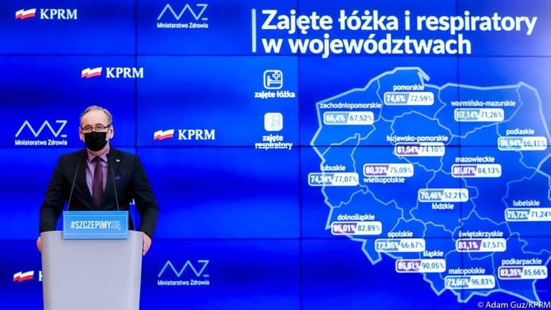 Na Dolnym Śląsku coraz mniej miejsc w szpitalach