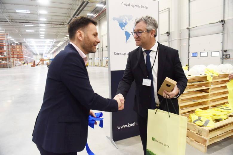 Uroczyste otwarcie nowej firmy logistycznej - Kuehne + Nagel - w Lubuskim Parku Przemysłowo-Technologicznym - Zielona Góra - 20 lutego 2019