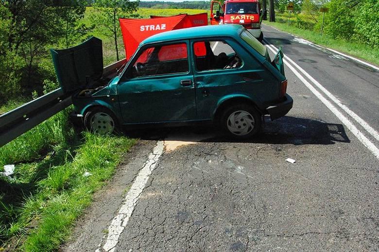 Śmiertelny wypadek na  drodze krajowej numer 151