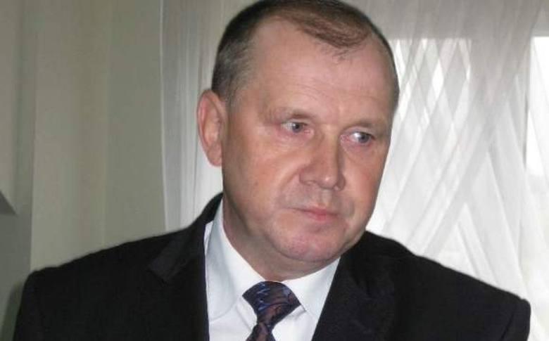 Marian Partyka, już zaprzysiężony wójt Baćkowic.
