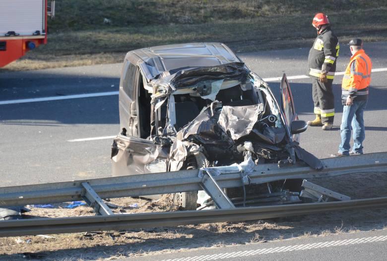A1 zablokowana. Zderzenie samochodu osobowego z ciężarowym