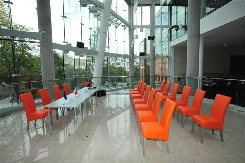 Wnętrze Filharmonii Opolskiej po rozbudowie