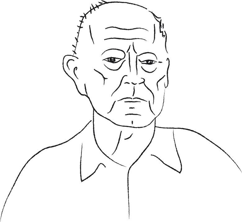 Zenon Fabiś, skromny sprzedawca książek z rynku Jeżyckiego