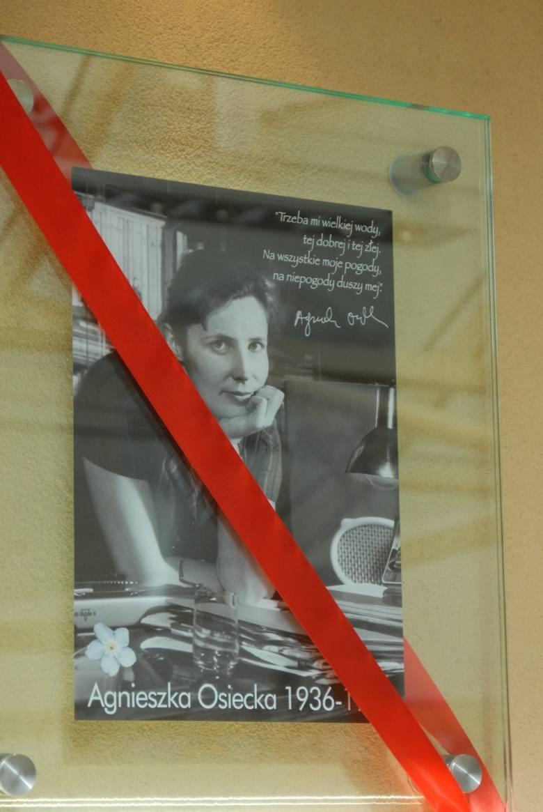 Agnieszka Osiecka ma w Sopocie swoją pamiątkową tabliczkę