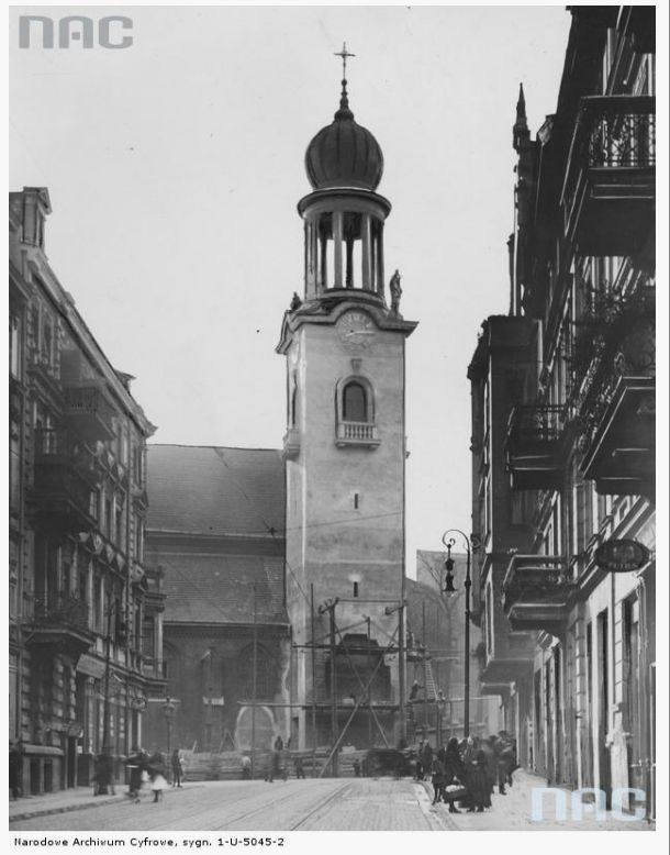 Kościół św. Marcina - 1928 rok