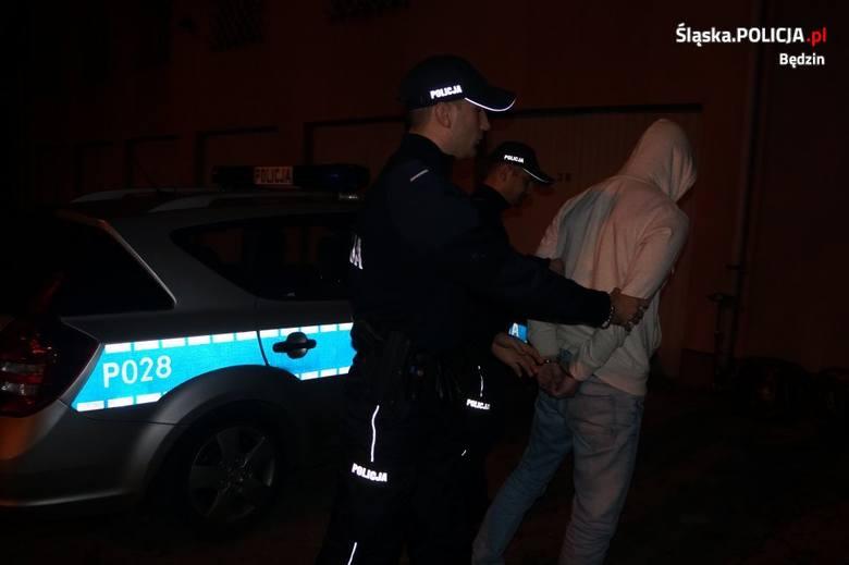 Będzinianin został zatrzymany przez policjantów