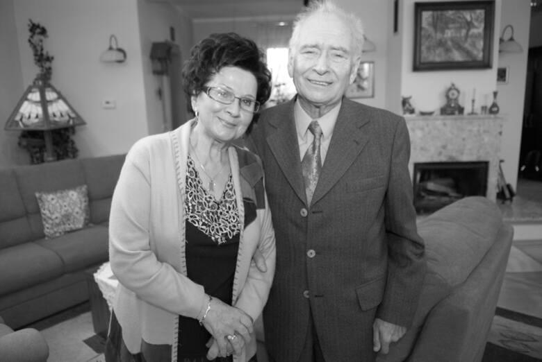 Czesław Jarmusz z żoną Teresą, rok 2011