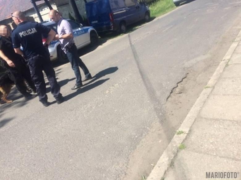 Do napadu doszło w Graczach przed godz. 12.