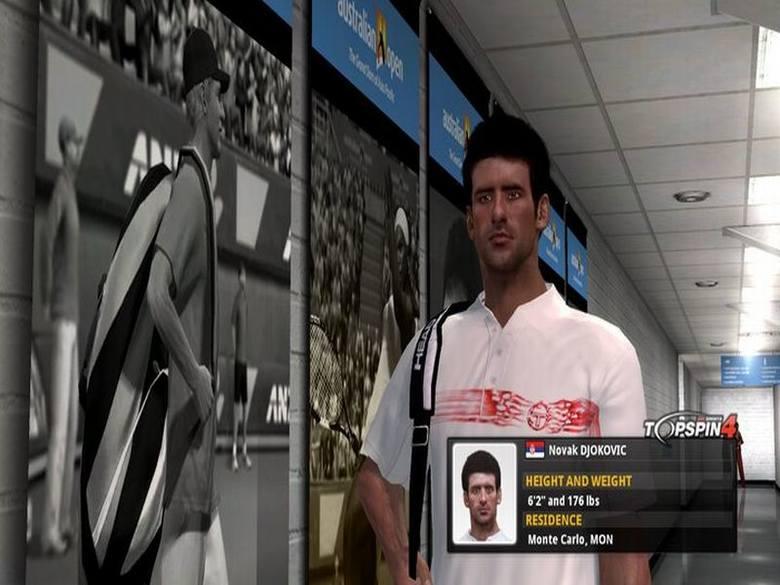 Zmierz się z najlepszymi tenisistami w dziejach świata.
