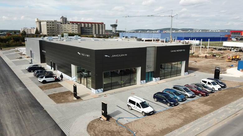 Salon Jaguara i Land Rovera w Kielcach. Wkrótce otwarcie