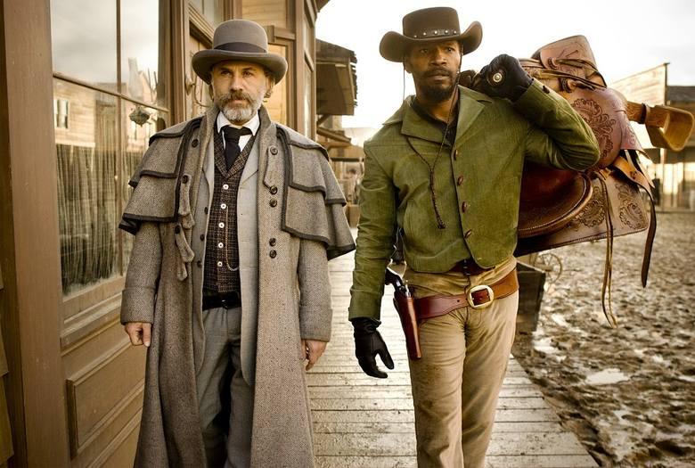 """""""Django""""Pierwszą filmową propozycją jest film Quentina Tarantino, będący brawurową mieszanką krwawego spaghetti westernu, komedii i"""