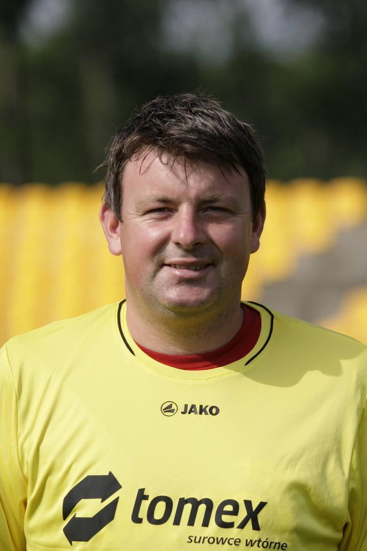 Lipiec 2010 – Rafał Górak jako trener Ruchu Radzionków<br />