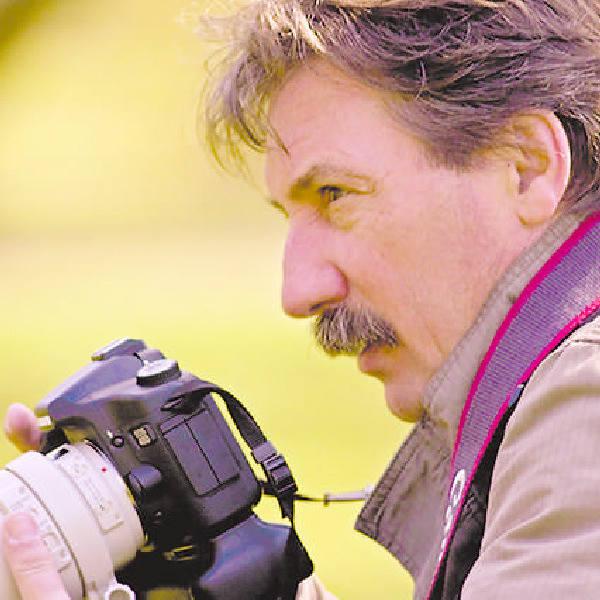 Leszek Lubicki: - Gdy idę poza miasto, biorę aparat, fotografuję krajobrazy, ale głównym celem są zawsze ptaki.
