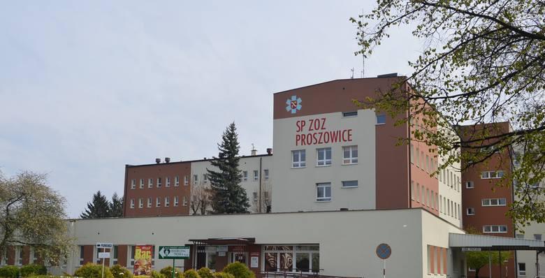 Samodzielny Publiczny Zespół Opieki Zdrowotnej w Proszowicach ul. Mikołaja Kopernika 13 - oddział zakaźny dla dorosłych