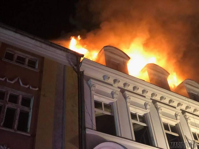 Wybuch gazu w kamienicy w Kędzierzynie-Koźlu.
