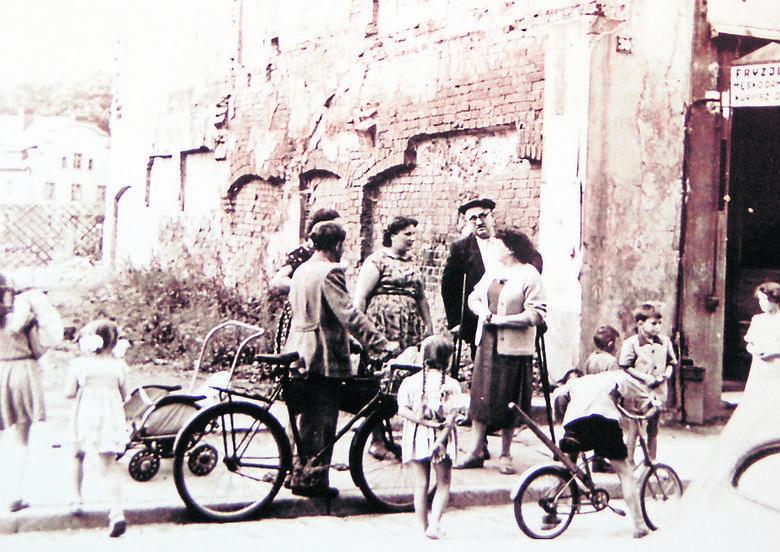 Tak wyglądała szprotawska ulica w czasach, gdy doszło do opisywanej tragedii
