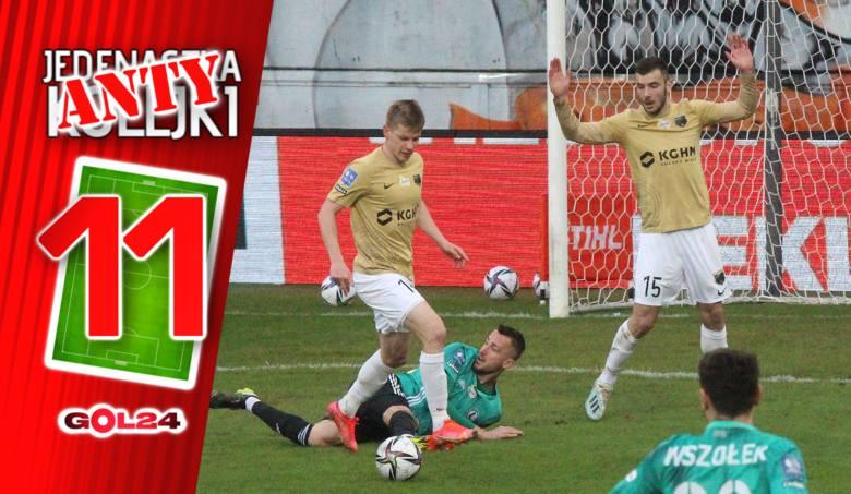 W 22. kolejce PKO Ekstraklasy zdarzyło nam się obejrzeć dwa bezbramkowe remisy, ale nawet kiepskie mecze tych drużyn nie przyćmiły fatalnych występów