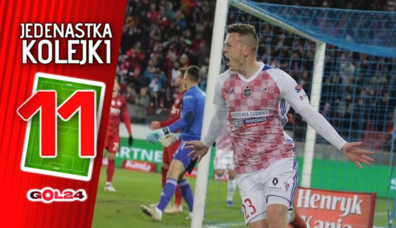 Mateusz Matras bohaterem Górnika Zabrze. Jedenastka 21. kolejki Lotto Ekstraklasy według GOL24 [GALERIA]