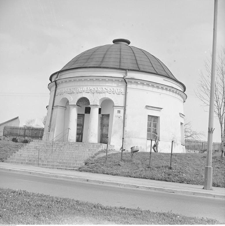 Domek Napoleona jeszcze w latach świetności