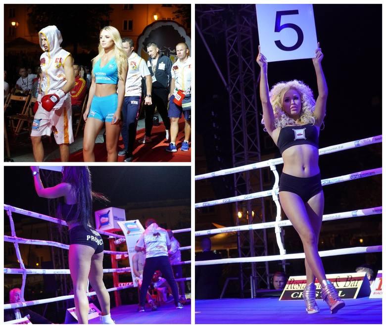 Ring Girls na gali Białystok Chorten Boxing Show III