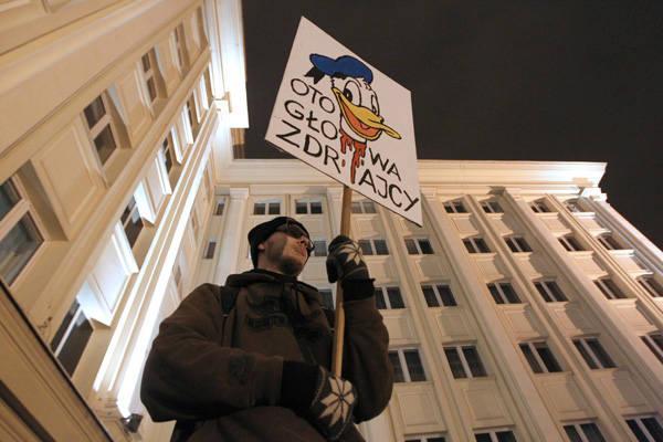 Rzeszów Demonstruje Przeciwko Acta Nowiny24pl