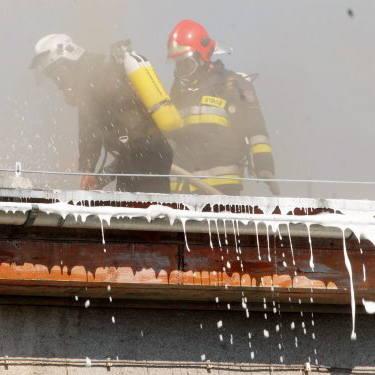 W wielkiej akcji wzięło udział aż 70 strażaków z kilku jednostek