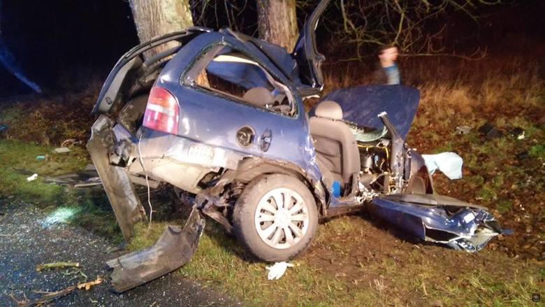Wypadek koło Maszewa