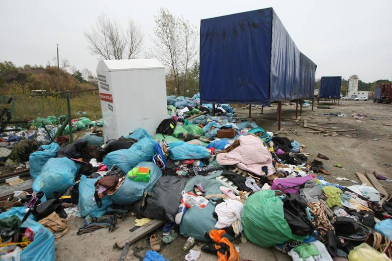 Używane ubrania z kontenerów kradł m.in. poseł PiS