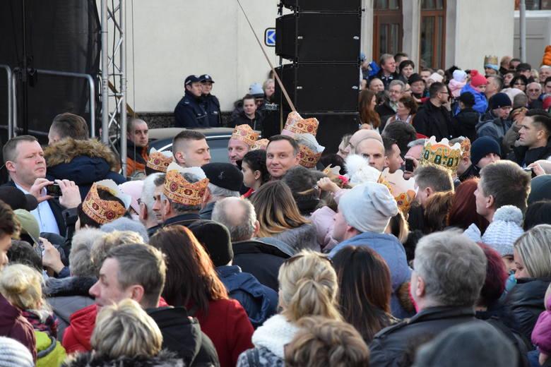 Skoczów 2018: para prezydencka wzięła udział w Orszaku Trzech Króli