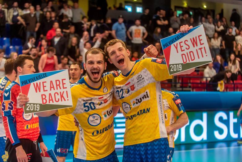Wytrzymali!!! Piłkarze ręczni PGE VIVE Kielce po raz czwarty w Final Four!!! [ZDJĘCIA]