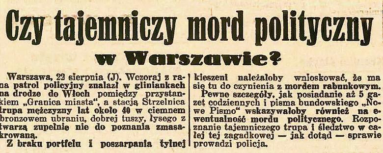 Działacze Komunistycznej Partii Polski podczas VI zjazdu partii w 1932 r. Z lewej zakreślono twarz Joska Mützenmachera