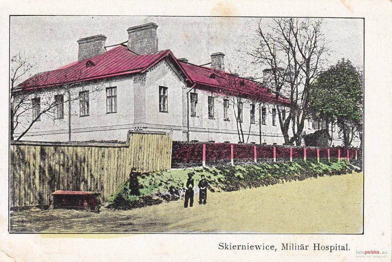 4. Lata 1915-1918, Szpital wojskowy