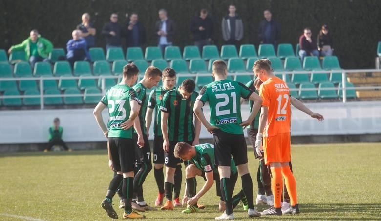 Drużyna ze Stalowej Woli przegrała sparing z ligowym rywalem