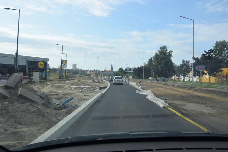 Przebudowa ulicy Goeppert-Mayer w Katowicach