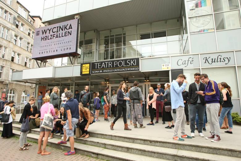 W Teatrze Polskim protest przeciwko wyborom nowego dyrektora