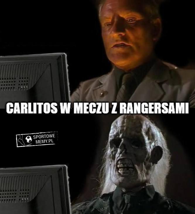 Memy po meczu Legia - Rangers: Carlitos nadal czeka, problemy Szpakowskiego [GALERIA]