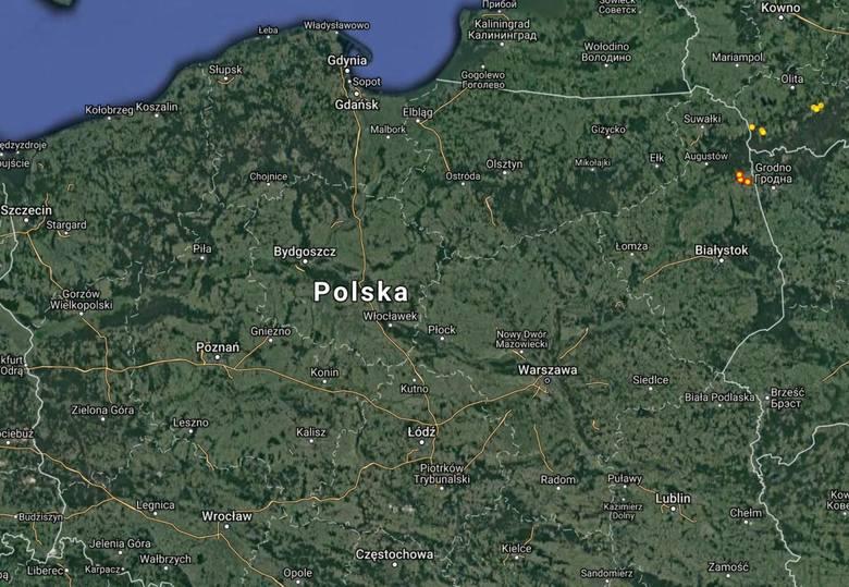 Gdzie Jest Burza Mapa Burzowa Polski Online Burze Online