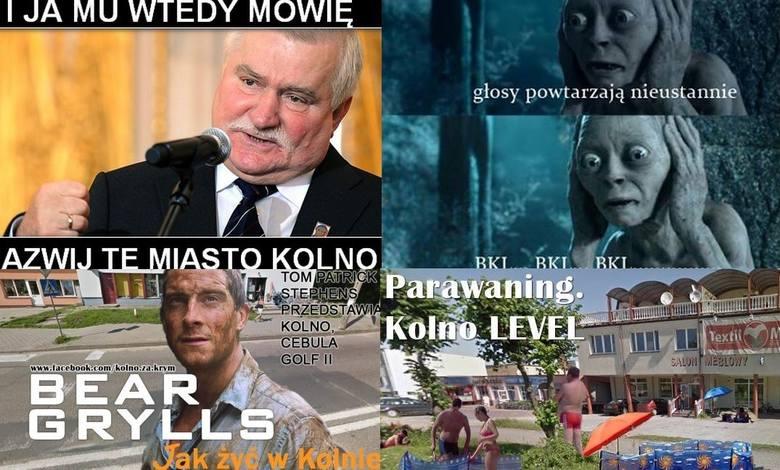 """Na fanpejdżu """"Zostawcie Krym - zabierzcie Kolno"""" na FB można znaleźć mnóstwo memów, których bohaterem (w krzywym zwierciadle) jest"""