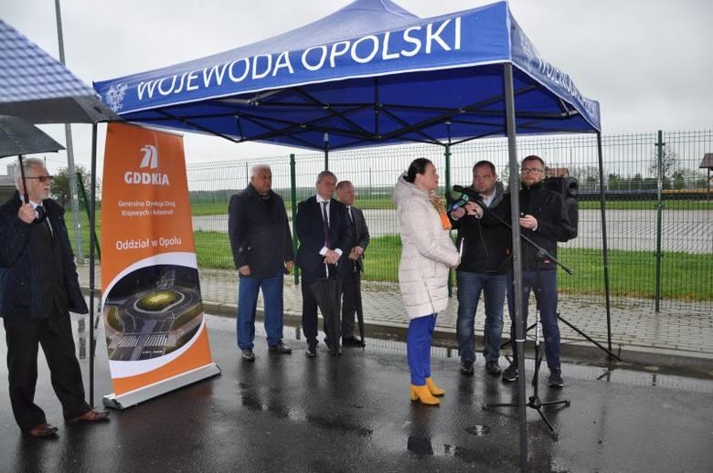 Pierwsze prace na odcinku Reńska Wieś - Poborszów ruszyły w kwietniu ubiegłego roku.