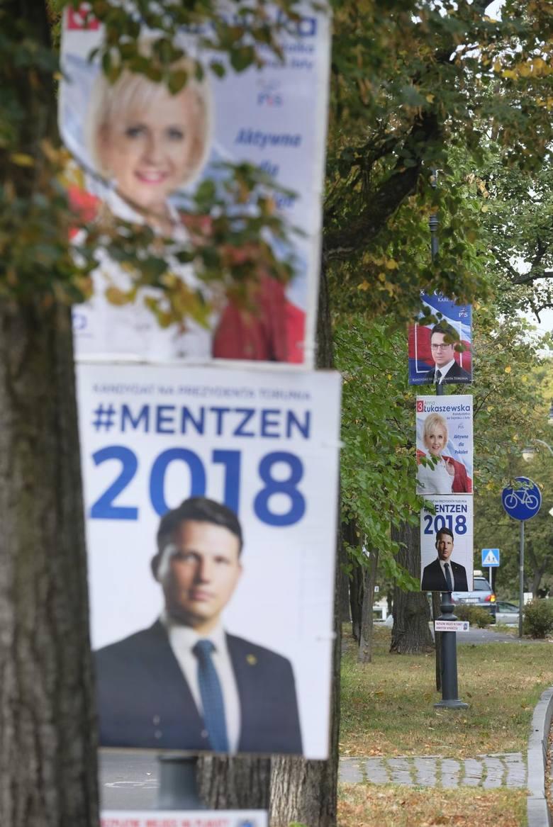 W tym roku miasto po raz pierwszy dokładnie określiło, jakie powierzchnie pod plakaty mogą zając komitety wyborcze