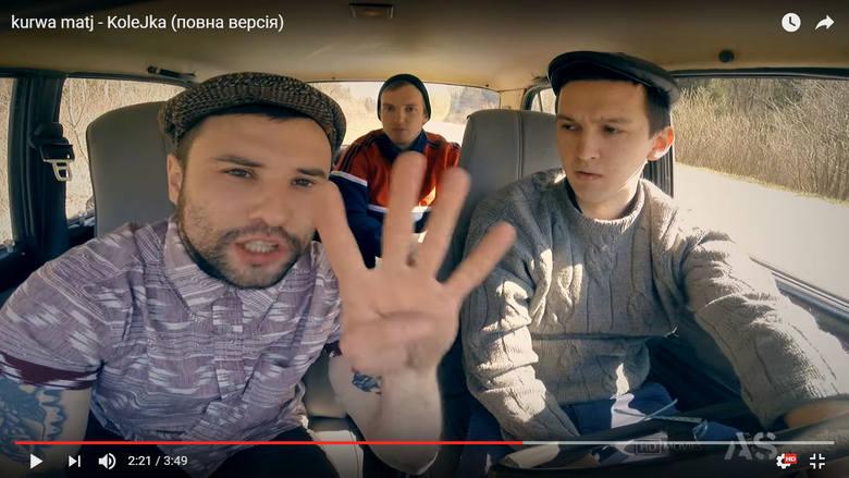 Ukraińcy nagrali teledysk o kolejkach na granicy z Polską