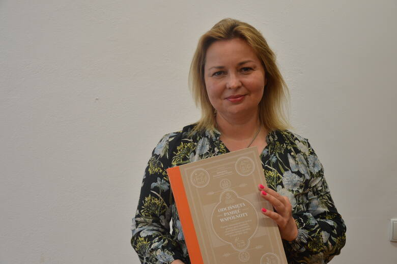 Dr Aleksandra Starczewska - Wojnar z nową książką. Pracowała nad nią 10 lat.