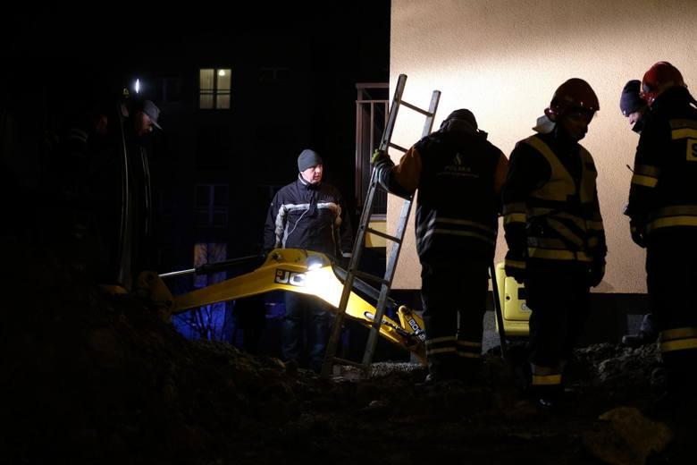 Wybuch gazu nastąpił w bloku przy ul. Hlonda w Bytomiu