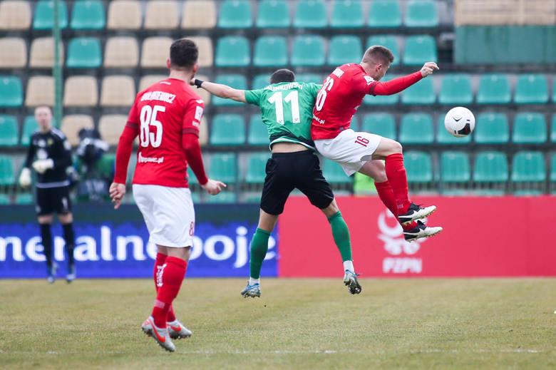 Górnik Łęczna - Widzew Łódź 1:2. Lider pokonał wicelidera. Zobacz zdjęcia