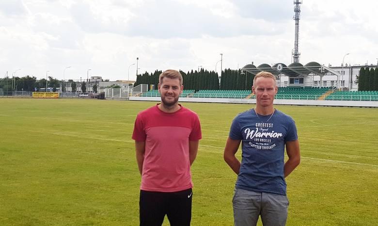 Michał Kachniarz (na zdj. z lewej) i Michał Bogacz poprowadzą Izolator w nowym sezonie