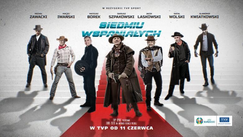 """Prezentacja komentatorów w stylu westernu """"Siedmiu Wspaniałych"""""""